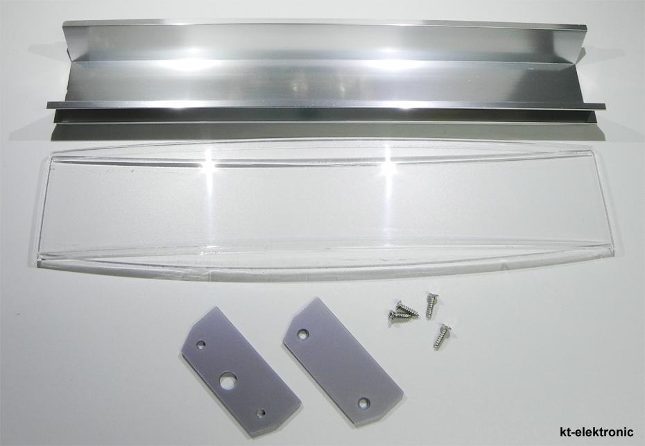 60 cm reflektor k hlk rper set f r aquarium beleuchtung f r 24 x 1w power led ebay. Black Bedroom Furniture Sets. Home Design Ideas